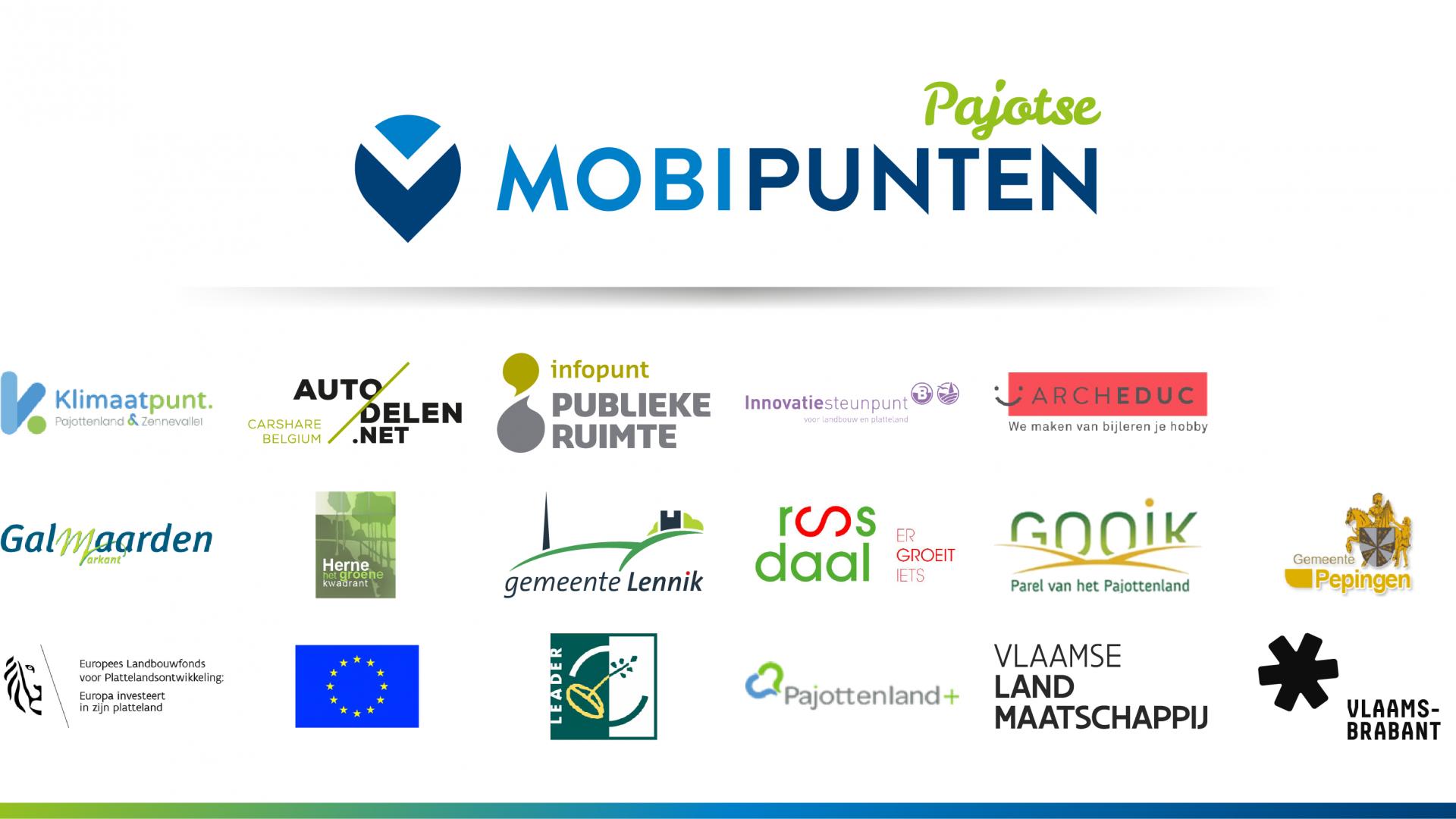 Pajotse gemeenten starten project 'Pajotse Mobipunten'