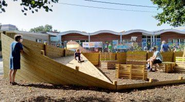 Kindvriendelijke schoolomgeving Wachtebeke genomineerd voor Verkeersveiligheidsprijs.
