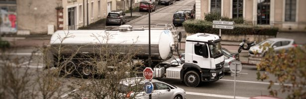 Moeten zware vrachtwagens überhaupt toegang krijgen tot het centrum van de stad?